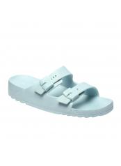 Scholl BAHIA - bílé zdravotní pantofle