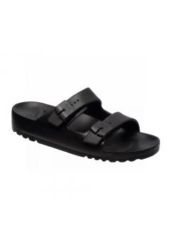 Scholl BAHIA - černé zdravotní pantofle