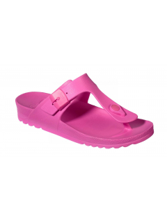 Scholl BAHIA FLIP-FLOP - růžové zdravotní pantofle