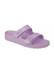 Scholl BAHIA - světle růžové zdravotní pantofle