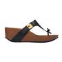Scholl EDNA 2.0 - černé zdravotní pantofle