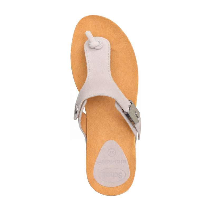 910ccc1da7 Scholl EDNA 2.0 - světle šedé zdravotní pantofle