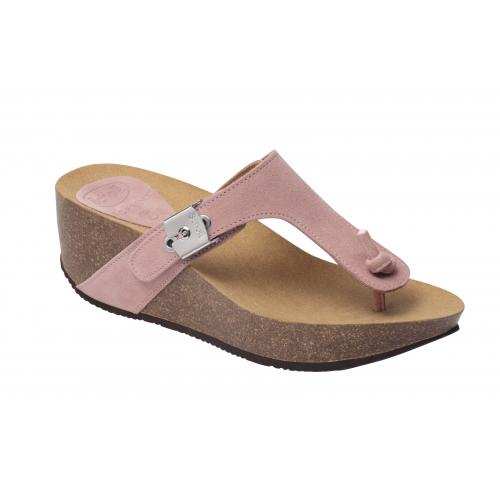 Dámská zdravotní obuv Scholl EDNA 2.0 - světle růžové pantofle