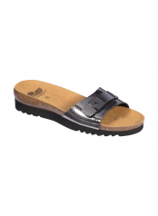 Scholl GINNI cínová šeď zdravotní pantofle