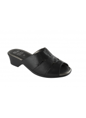 Scholl KIRIS černé zdravotní pantofle