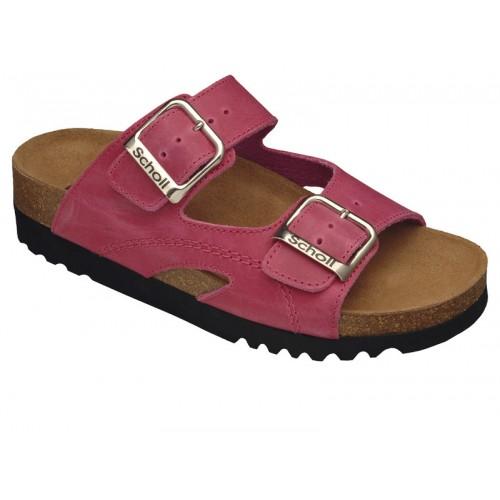 Scholl MOLDAVA AD růžové zdravotní pantofle