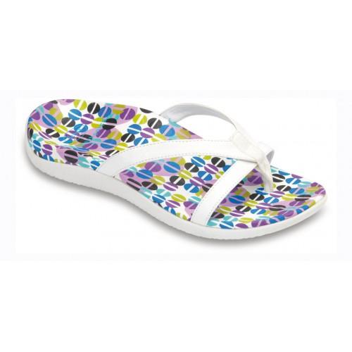 Scholl SET - bílé zdravotní pantofle