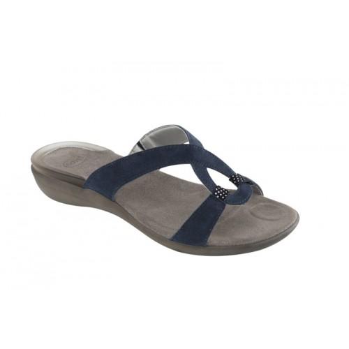 Scholl SNIPUL tmavě modré zdravotní pantofle