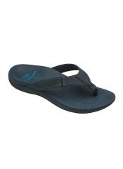 Scholl RYDER tmavě modré zdravotní pantofle