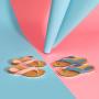 Scholl TIST 2.0 - světle růžové plážové žabky