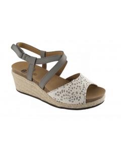 Scholl PAULINE šedé zdravotní sandály