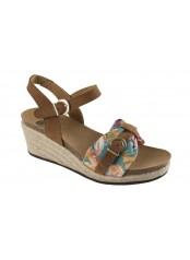 Scholl VALE světle hnědé zdravotní sandály
