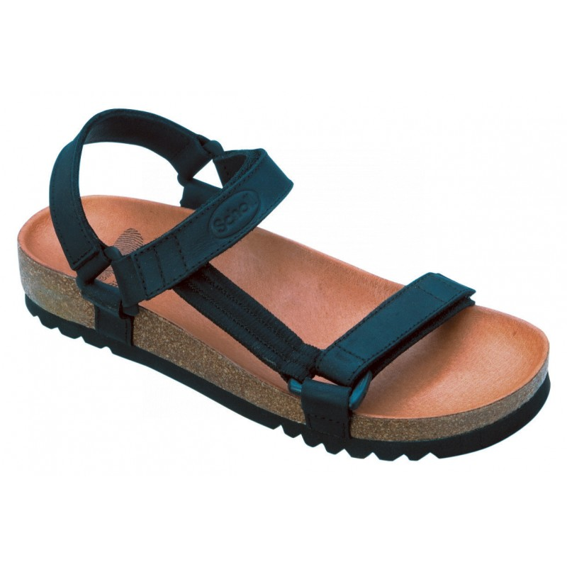 Scholl HEAVEN - černé zdravotní sandály d178e763f1c