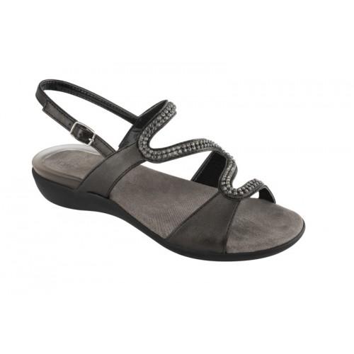 Scholl LINKOL černé zdravotní sandále