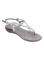Scholl LUMEN stříbrné zdravotní sandále