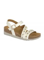 ADANNA  SANDAL - bílé sandály