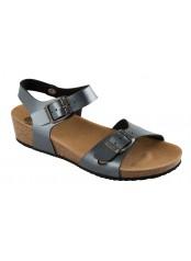 Scholl AURELIANA šedé zdravotní sandály