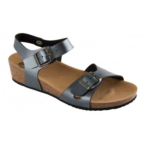 5aad9868f9b7f Scholl AURELIANA šedé zdravotní sandály EU 37