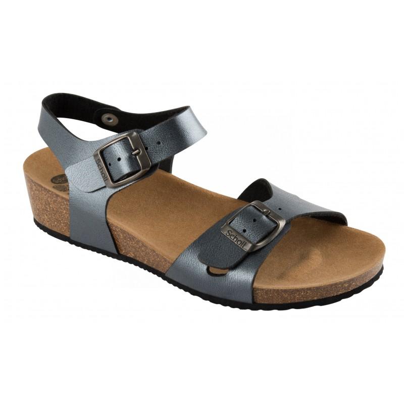 8a630b4fdd62 Scholl AURELIANA šedé zdravotní sandály