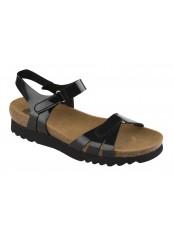 AYDA černé zdravotní sandále