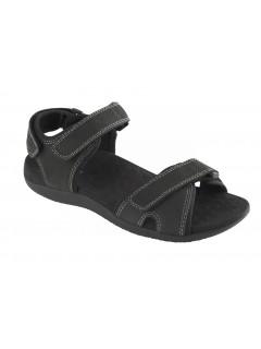 Scholl BARWON černé zdravotní sandály