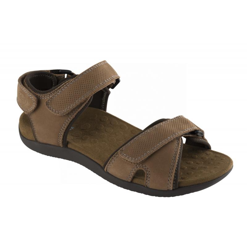 3f87218763a9 Scholl BARWON hnědé zdravotní sandály