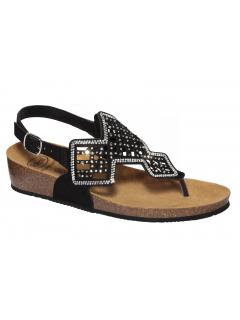 Scholl CAMILLA SANDAL černé zdravotní sandále