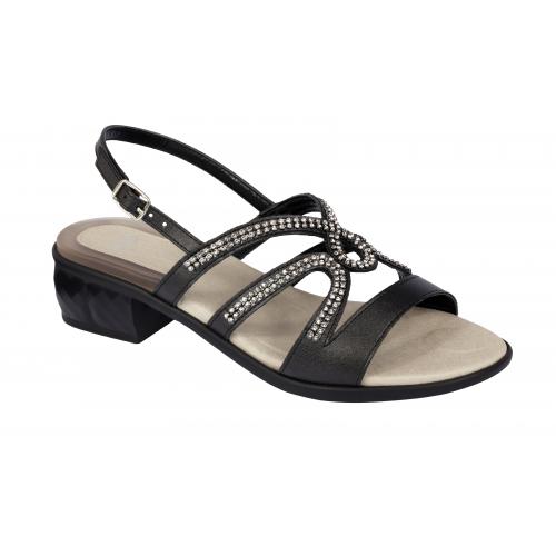 obuv Scholl DANAE černé zdravotní sandále + doprava zdarma