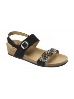 Scholl EVELYNE SANDAL černé sandály