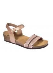 Scholl IVETTE růžově zlaté zdravotní sandále
