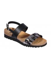 Scholl JADA SANDAL - černé zdravotní sandály