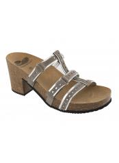 Scholl MICOL šedé pantofle
