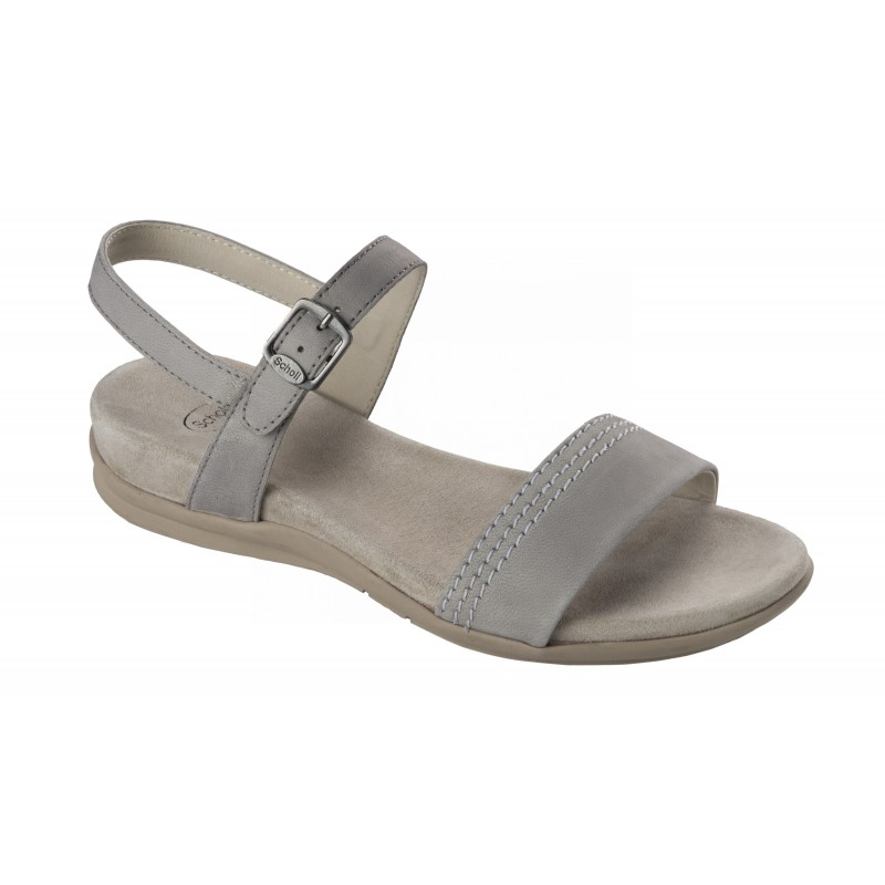3ffc5e6eaf Scholl SYRMA světle šedé zdravotní sandály