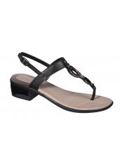 Scholl YOKO FLIP-FLOP černé zdravotní sandále