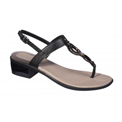 dámská obuv Scholl YOKO FLIP-FLOP černé zdravotní sandále + doprava zdarma