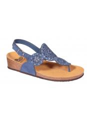 ABELINE modré zdravotní sandále