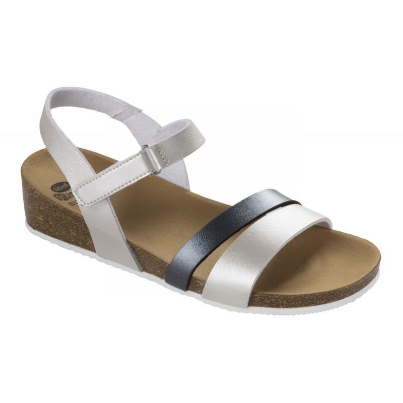 e4cf116fcb39 Scholl ADALIA šedé zdravotní sandály