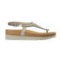 Scholl AIDA bílé/platinové zdravotní sandále