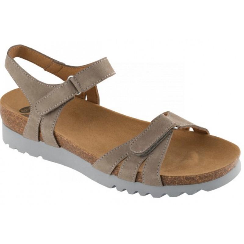 63d86461f127 Scholl AYDA šedé zdravotní sandále