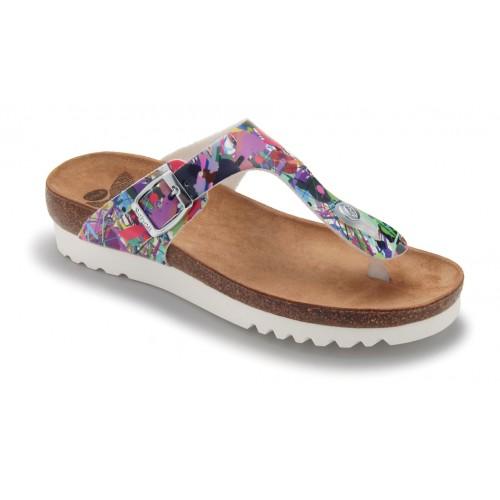 Scholl BOA VISTA zdravotní pantofle multi