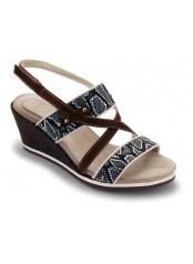 Scholl BRADE tmavě hnědé sandále Scholl BRADE tmavě hnědé ...
