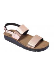 Scholl CYNTHIA SANDAL růžově zlaté zdravotní sandály