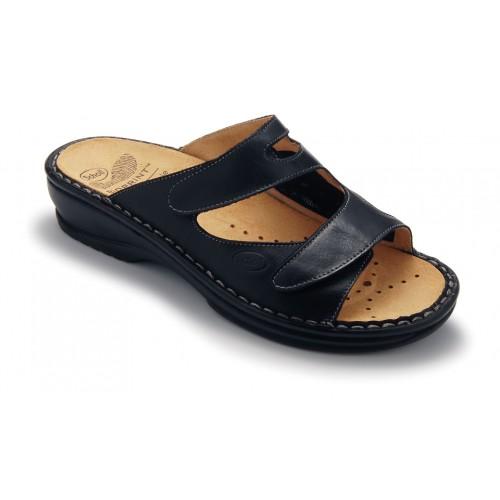Scholl DORINA černé zdravotní pantofle