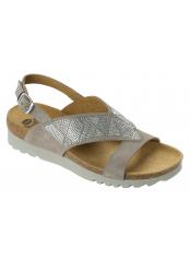 Scholl KARIN šedé zdravotní sandály