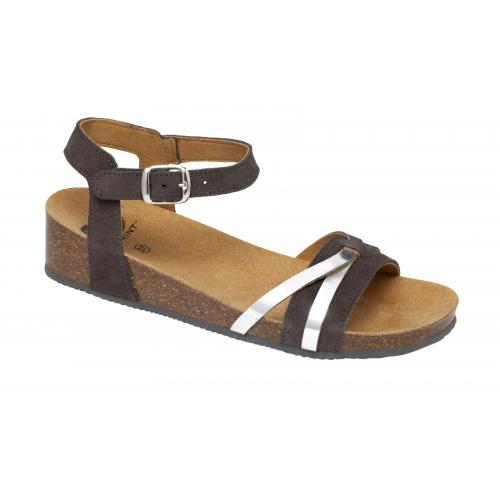 Scholl KELLY tmavě šedé zdravotní sandály EU 35 75f3c717111