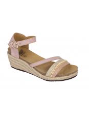 Scholl MAYRA světle růžové zdravotní sandály