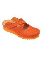 Scholl CLONTARF WG rezavá domácí obuv