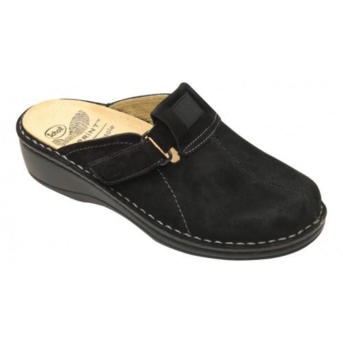 Scholl DORNY černá domácí obuv