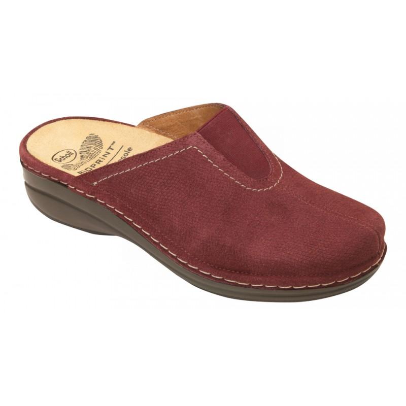 Scholl DUCHESS domácí švestkové pantofle VÝPRODEJ a4a4016283c