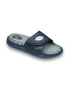 Scholl AQUAJETS modré pantofle